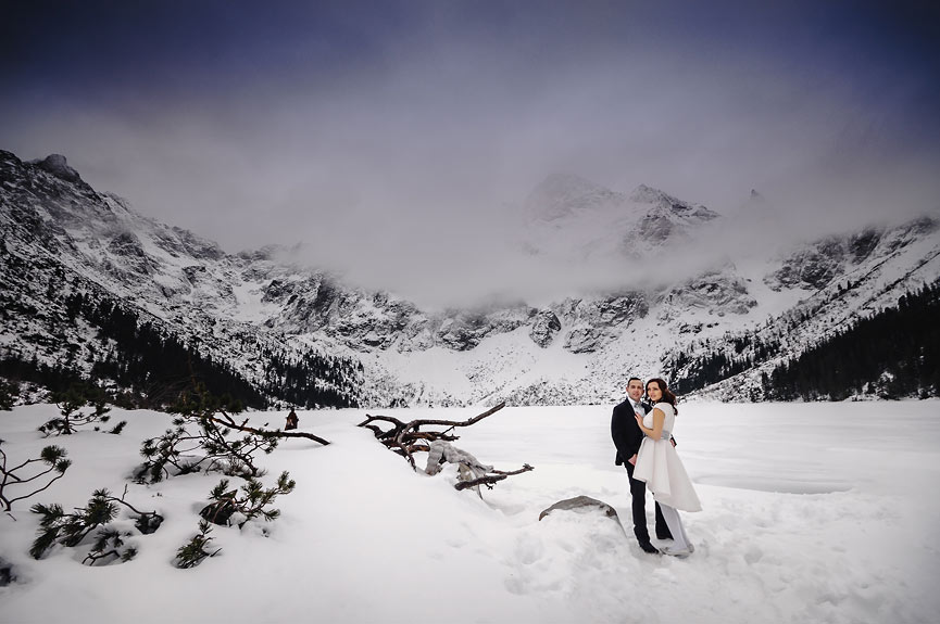 Wyjątkowa Sesja ślubna w górach, tatrach