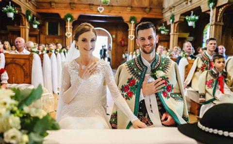Fotograf Nowy Targ na ceremonii ślubnej 36