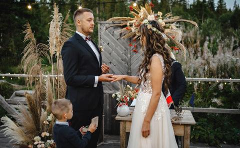 Fotografia weselna z ceremonii ślubnej 020