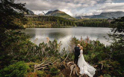 Romantyczny plener ślubny w górach 096