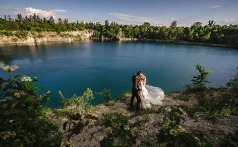 Romantyczny plener ślubny w górach 097