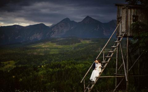 Romantyczny plener ślubny w górach 103