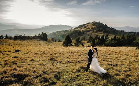 Romantyczny plener ślubny w górach 104