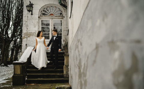 Romantyczny plener ślubny w górach 105