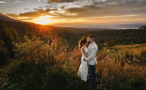 Wyjątkowy plener ślubny w Tatrach 075