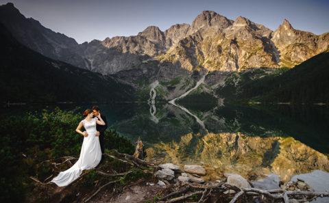 Plener ślubny w Tatrach 052