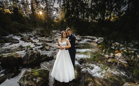 Wyjątkowa sesja ślubna w górach 123