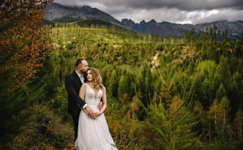 Wyjątkowa sesja ślubna w górach 124