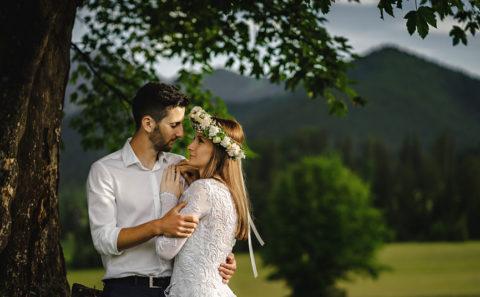 Wyjątkowa sesja ślubna w górach 126