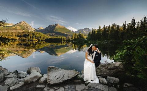 Wyjątkowa sesja ślubna w górach 132