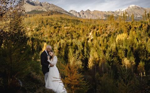 Wyjątkowa sesja ślubna w górach 133