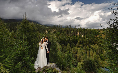 Romantyczna sesja ślubna w Tatrach 134