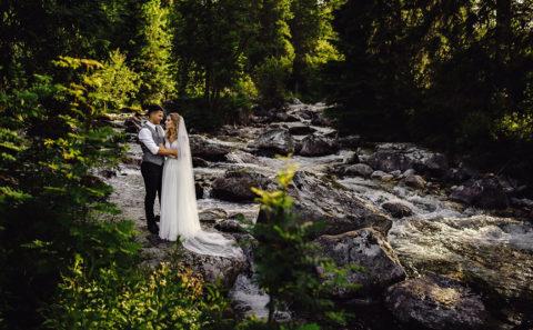 Romantyczna sesja ślubna w Tatrach 142